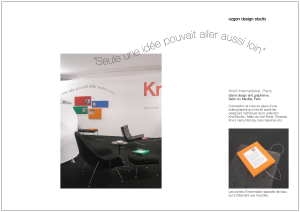 Knoll Stand