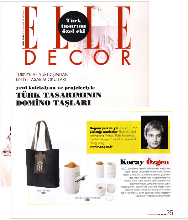 Elle Decor - Special Design Issue